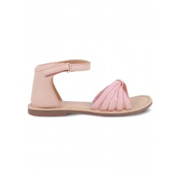 Snow Pink Solid Sandals