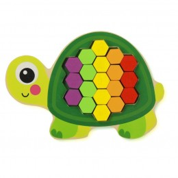 Colourful Mosaic Pattern Puzzle