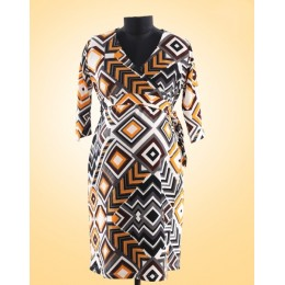 Yellow Brick Road Maternity & Nursing Wrap Dress