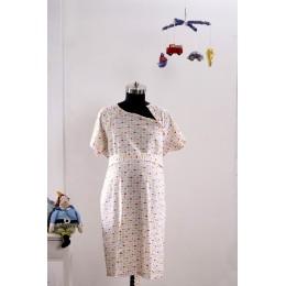 Tulip Garden Maternity & Nursing Gown