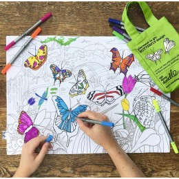 Placemat To Go - Butterflies