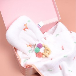 Baby Deer Organic Baby Pillow