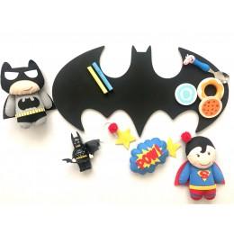 Chalkboard + WhiteBoard -Batman