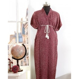 Mulberry Winds Kaftan - Free Size