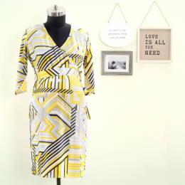 What Will it Bee Maternity & Nursing Wrap Dress
