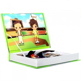 Magnetic Book- Dress up Baby