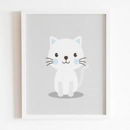 Baby Animals Frame - Blue