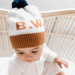 Beanie - Bombay Brown and Stone Marl