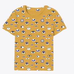 Eye Of Awareness T-Shirt (Mustard)