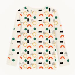 Primary Geometry Full Sleeves T Shirt