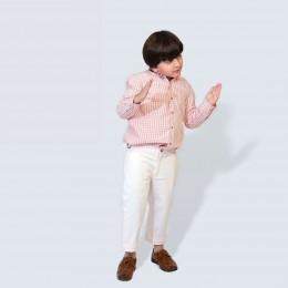 Classique Shirt - Pink Gingham