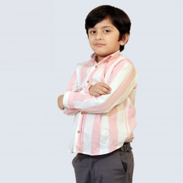 Classique Shirt - Pink Stripes
