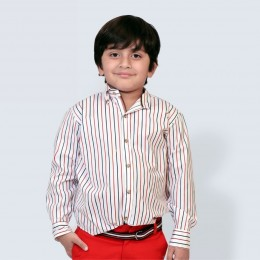 Classique Shirt - Red and Blue