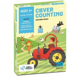 Clever Counting - Matching Numbers Puzzle