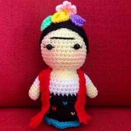 Little Frida , Big Dreams Crochet Doll