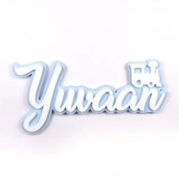 3D Acrylic Name Plate - Engine