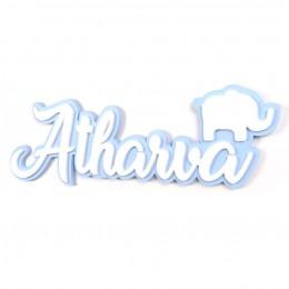 3D Acrylic Name Plate - Elephant