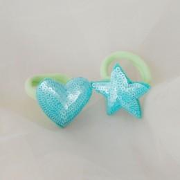Heart Star Hair Ties