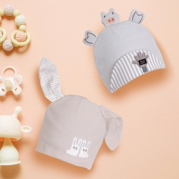 Happy Hands Grey 3D Caps - 2 Pack
