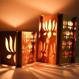 Golden Glow Lotus Lamp - Diwali Edit