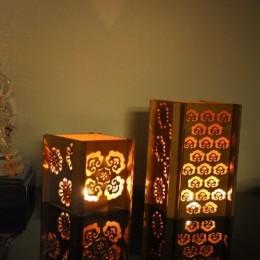 Golden Glow Motif Lamp - Diwali Edit