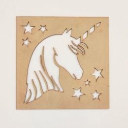 Unicorn Stencil Set