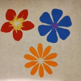 Flower Stencil Set