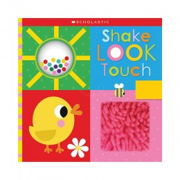 Shake Look Touch Cloth book