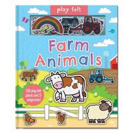 Soft Felt Play Books: Farm Animals Board book