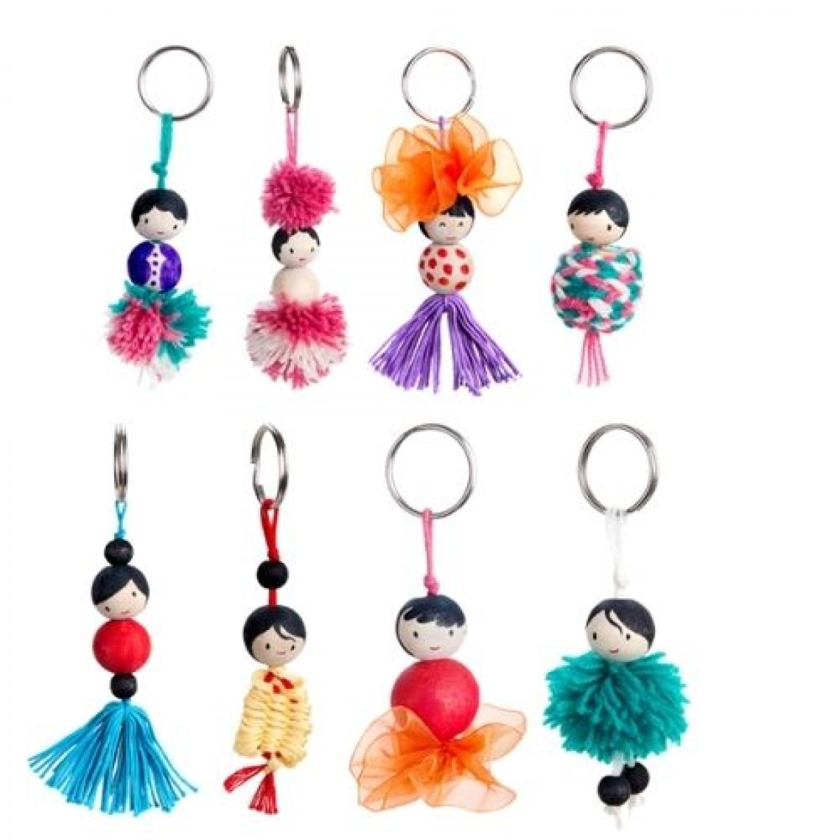 Keychain Dolls - Activity Box