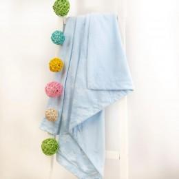Baby Blue Stars Blanket