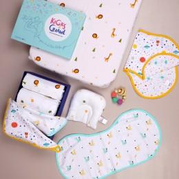 Crawling Cuties Organic Baby Shower Hamper
