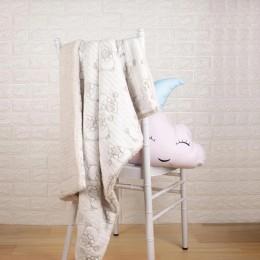 Creamy Teddy Fur Blankets