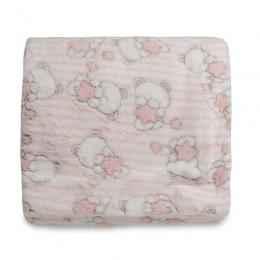 Pink Teddy Fur Blankets