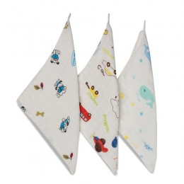 Playtime Wash Cloth - 3 Pack