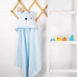 Snowy Bear Hooded Towel