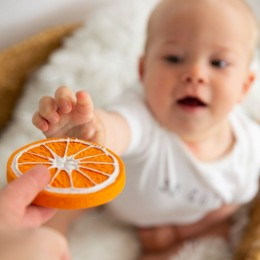 Clementino The Orange Natural Rubber Teether