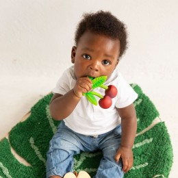 Mery The Cherry Natural Rubber Teether