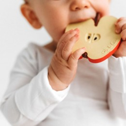 Pepita The Apple Natural Rubber Teether