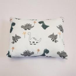 Organic Cotton Pillow & Bolster - Dino