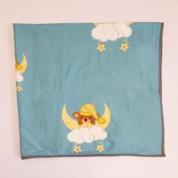 Organic Baby Dohar Blanket - Sweet Dreams Teddy