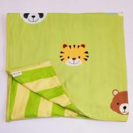 Organic Baby Dohar Blanket - Jungle Love