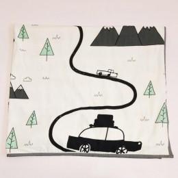 Organic Baby Dohar Blanket - Far Far Away