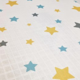 Baby Cot Fitted Sheet - Sweet Dreams Teddy Baby