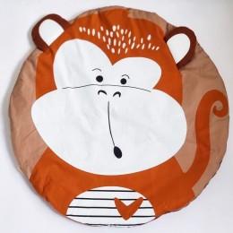Monkey Baby Playmat, Brown