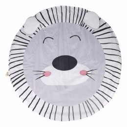Lion Baby Playmat, Grey