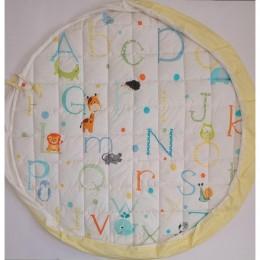 Organic Baby Storage cum Playmat -  ABCD