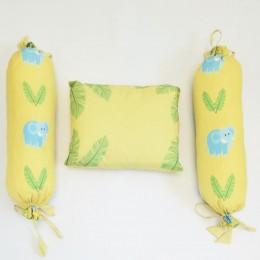 Organic Cotton Pillow & Bolster - Jungle Love