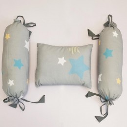 Organic Cotton Pillow & Bolster - Sweet Dreams Teddy