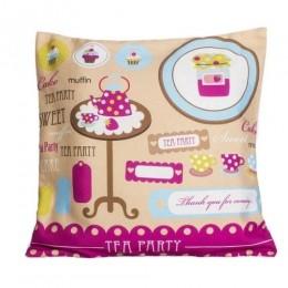 Sweet Dreams- Tea Party Cushion Covers